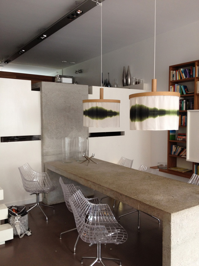 Interior design for television drama series 'Overspel' (Adultry)-Pendant lamps Sognsvann