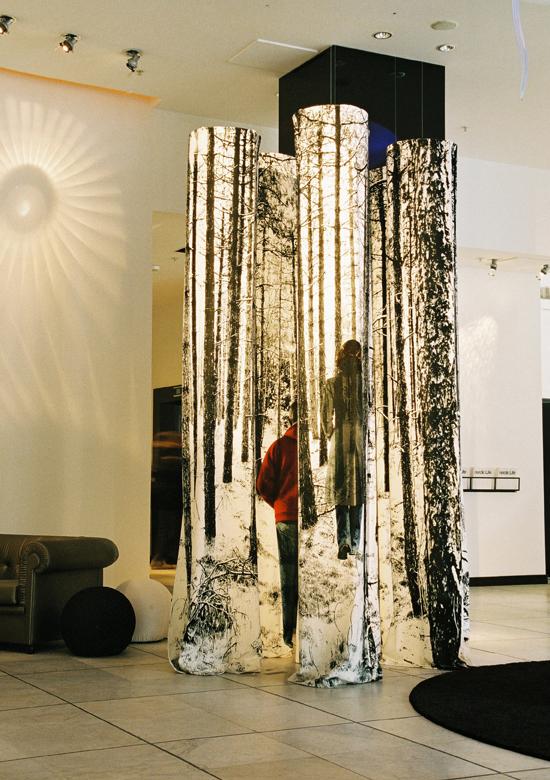 Nordic Light Design Hotel Stockholm, Forest Velvet Pillars