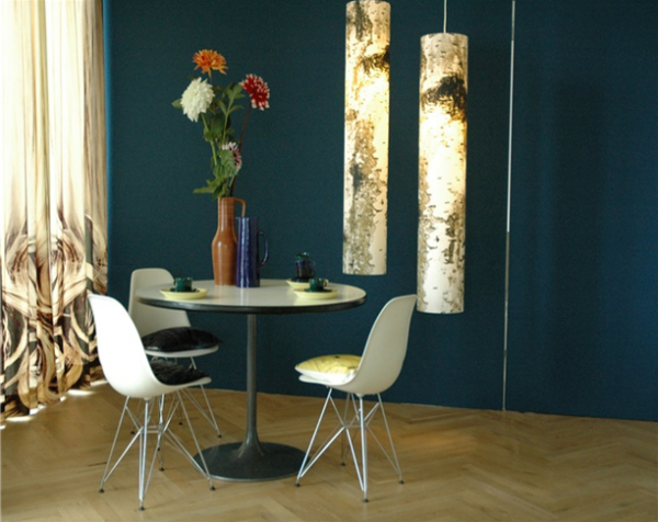 Studio Brunklaus Amsterdam Filmset with Log large pendant Lamp