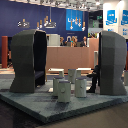 Stand design Orgatec-Cologne in collaboration with Lande Group