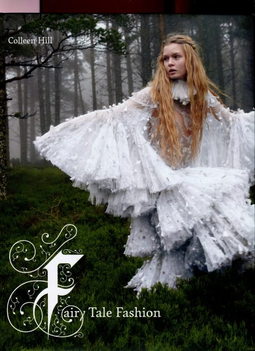 Catalog cover Fairy Tale Fashion, FIT New York, featuring 'Blond' curtains by Nicolette Brunklaus Amsterdam.