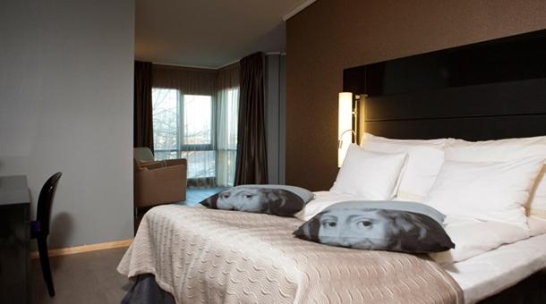 Clarion Hotel Stavanger with Portrait Pillows