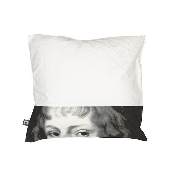 1.Portrait-Pillow-Black-and-White-Front-137