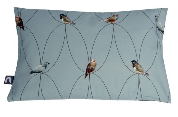 Brunklaus Amsterdam - Pillow 'Birds Blue' 50-35