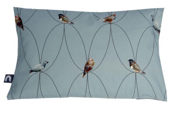 Brunklaus Amsterdam - Pillow 'Birds Blue' 50-35
