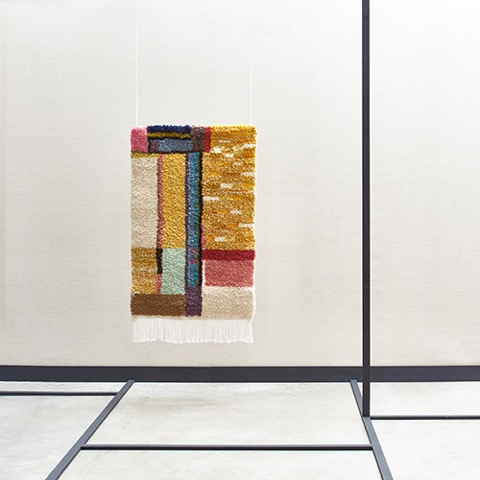 Grid, Acoustic Tapestry Made in Morocco
