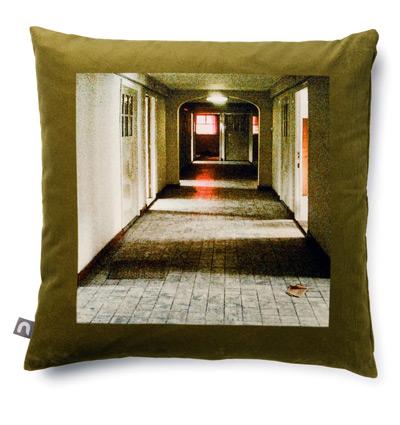 Nicolette Brunklaus, Velvet pillowcase green