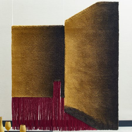Nicolette Brunklaus, Acoustic tapestry The wall wool