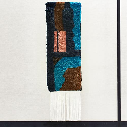 Nicolette Brunklaus, detail Tapestry wool dessert