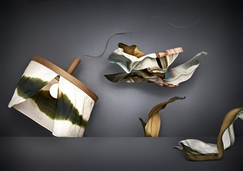 Pendant Oak and Silk silk scarves