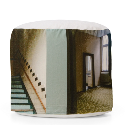 seating object with digital print