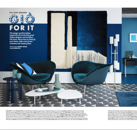Publication in Elle Decoration UK
