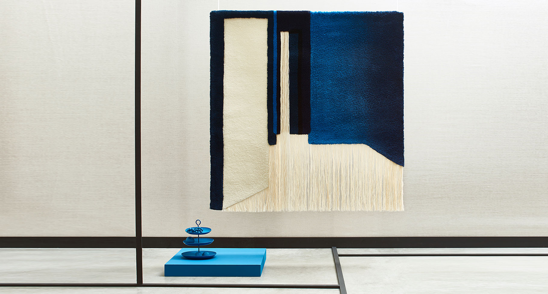 Nicolette Brunklaus Tapestry 'Blue Room'